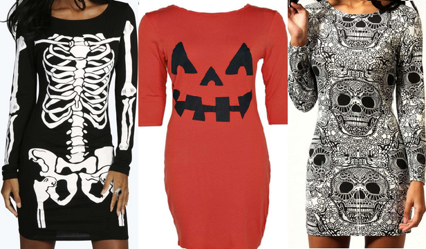 Halloween dresses at Boohoo.com