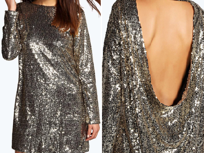 Another touch of sparkle from Boohoo