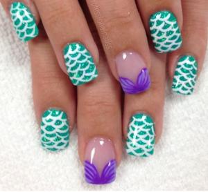 mermaid nails5