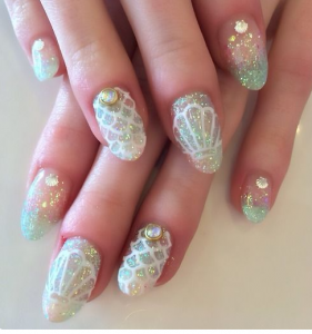 mermaid nails6