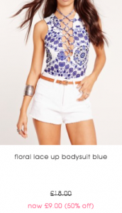 missguided floral