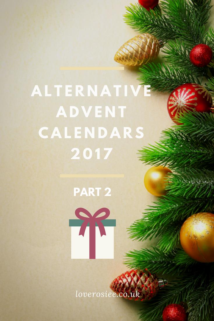 alternative advent calendars 2017 2 loverosiee blog. Black Bedroom Furniture Sets. Home Design Ideas