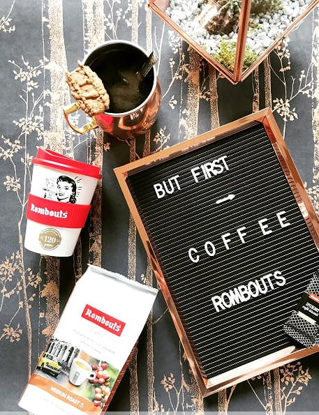 But First.. Rombouts Coffee