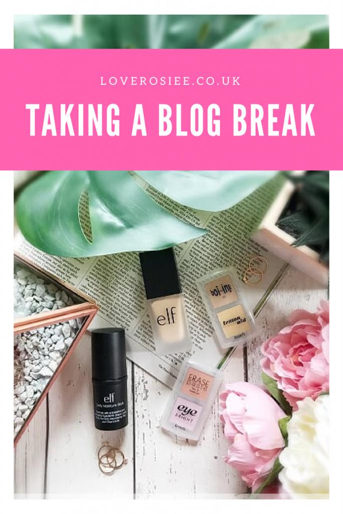 Having A Blog Break