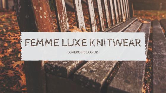 Femme Luxe Knitwear